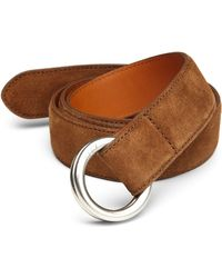 Polo Ralph Lauren Suede O-Ring Belt - Lyst