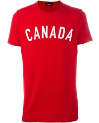 DSquared² | Canada Print T-shirt | Lyst