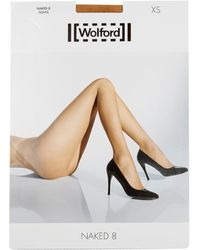 Wolford Naked 8 Tights - Lyst