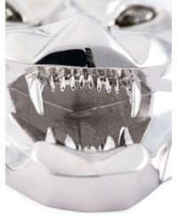 Philipp Plein 'united' Necklace - Metallic