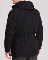 Theory Allon Altus Hooded Jacket - Black