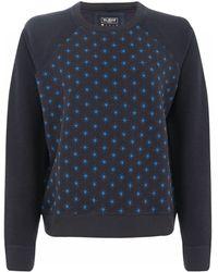 French connection Night Sky Star Sweatshirt - Lyst
