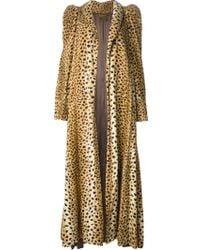 Biba | Leopard Print Coat | Lyst
