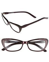 Corinne Mccormack - 'isabelle' 52mm Reading Sunglasses - Burgundy - Lyst