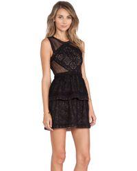 BCBGMAXAZRIA Joselyn Mini Dress - Lyst