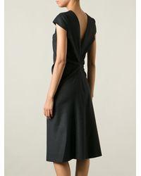 Maison Martin Margiela Drop Back Dress - Lyst
