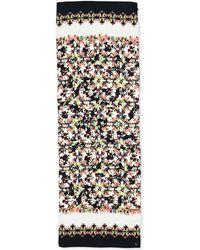 Erdem Long Silk Peabody Wallpaper Floral Scarf - Lyst