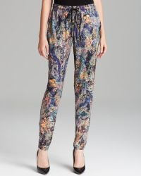 Nicole Miller Artelier | Pants Tapestry Stretch Charm | Lyst