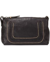 Frye - Anna Leather Travel Pouch - Lyst