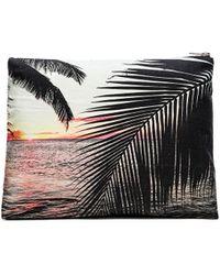 Samudra - Molokai Palm Pouch - Lyst