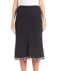 Derek Lam | A-line Tassel-trimmed Skirt | Lyst