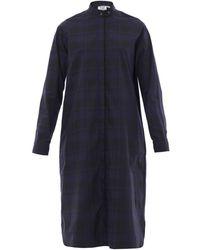 Thierry Colson Margot Gingham-Print Shirt Dress - Lyst
