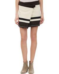 Isabel Marant Adelaide Blanket Wrap Skirt - Lyst