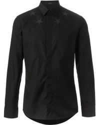 Givenchy Star Patch Shirt - Lyst