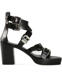 Costume National | Buckled Sandals | Lyst