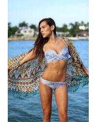Bikini.com   Fringe Trim Kimono   Lyst