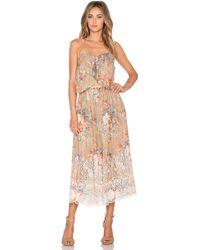 Zimmermann Anais Antique Dress floral - Lyst