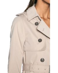 SOIA & KYO - Terence Classic Trench Coat - Lyst