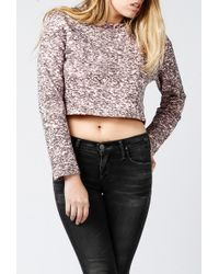 Cheap Monday | Crop Sweatshirt | Lyst