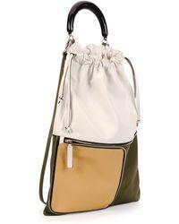 Marni Large Expandable Zip Satchel Bag - Lyst