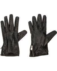 Maison Scotch - Leather Gloves - Lyst