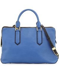 orYANY Kristina Multi-Zip Satchel blue - Lyst