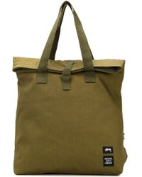 Stussy - Canvas Tote Bag - Lyst