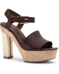 Milly | Samba Platform Sandal | Lyst