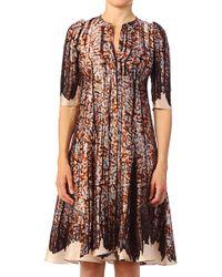 Cacharel Silk Dress - Lyst
