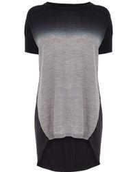 Karen Millen Ombre Dip Dye Sweater - Lyst