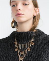 Zara | Chain Necklace | Lyst