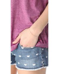 Kristen Elspeth Triple Oval Bracelet - Metallic