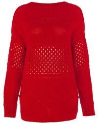 Alice By Temperley Lori Loose Jumper - Lyst