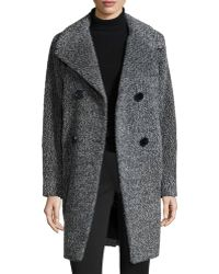 Sofia Cashmere | Double-breasted Cocoon Coat | Lyst
