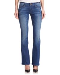 True Religion Becca Mid-Rise Bootcut Jeans - Lyst