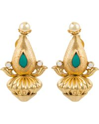 Kastur Jewels - Heritage Dome Earrings - Lyst