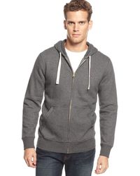 Tommy Hilfiger Plains Hoodie - Lyst