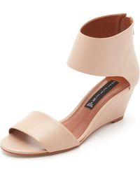 Steven by Steve Madden - Laynna Wedge Sandals - Lyst