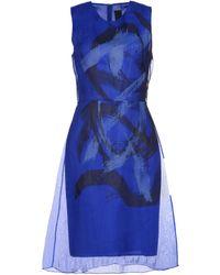 Vera Wang Knee-length Dress - Lyst