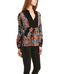 Twelfth Street Cynthia Vincent - Bell Sleeve Blouse - Lyst