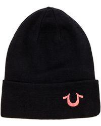 True Religion Knit Cotton Watchcap - Lyst