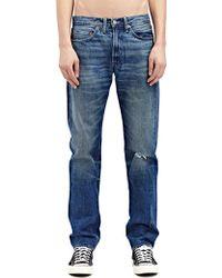 Levi's New Season - Levi'S Vintage Mens Straight Fit 1954 501 Waldorf Washed Selvedge Denim Jeans - Lyst