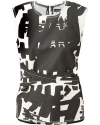 Isabel Marant Abstract Print Top - Lyst
