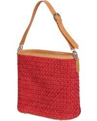 Desmo Woven Leather Shoulder Bag - Lyst