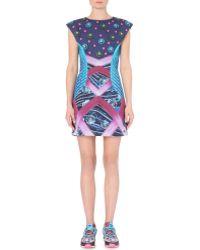 Mary Katrantzou Digital-print Neoprene Dress - Lyst