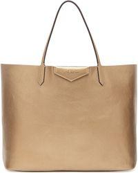 Givenchy Antigona Large Metallic Shopper Bag - Lyst