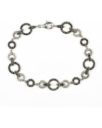 Judith Jack - Marcasite And Crystal Circle Bracelet - Lyst