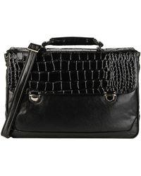 Giorgio Fedon Briefcase - Black