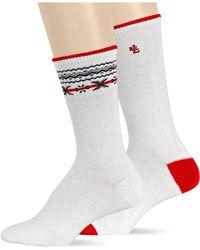 Ralph Lauren Fair Isle Trouser Sock Set - Lyst