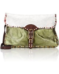 Campomaggi - Studded Small Shoulder Bag - Lyst